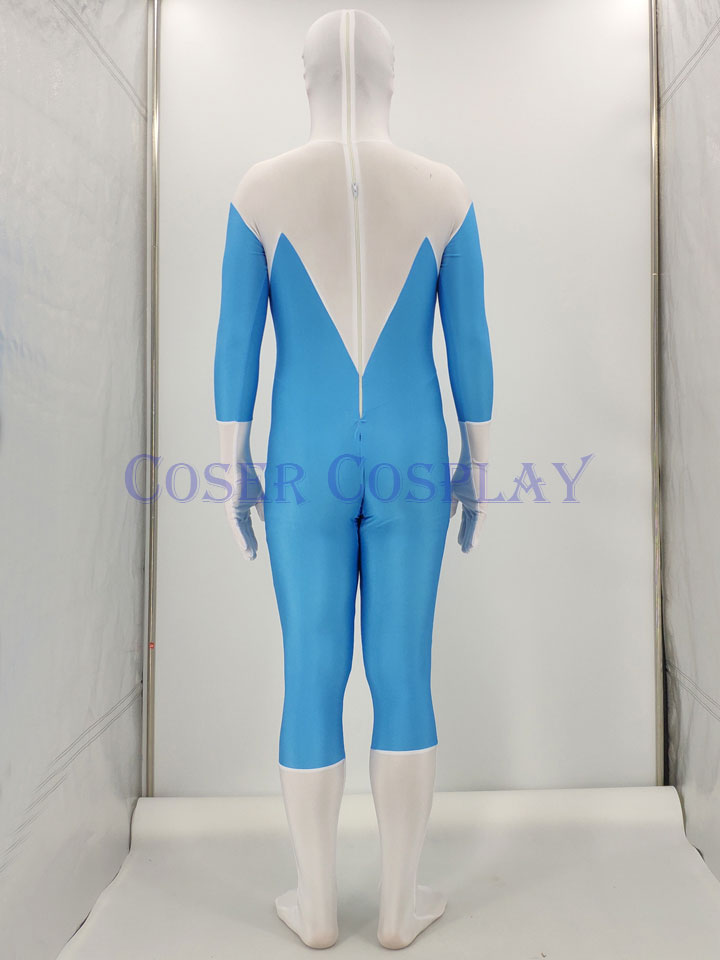 New The Incredibles Frozone Costume Halloween Frozone Cosplay Zentai Suit