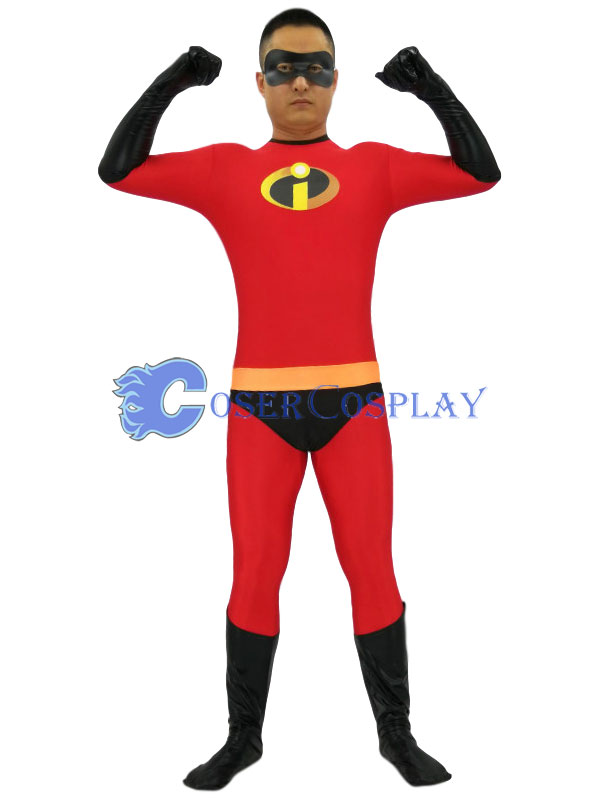 The Incredibles Mr Incredible Bob Parr Halloween Costumes
