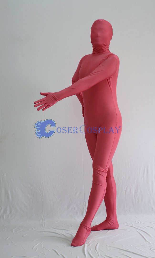 Unicolor Peach Zentai Halloween Costumes
