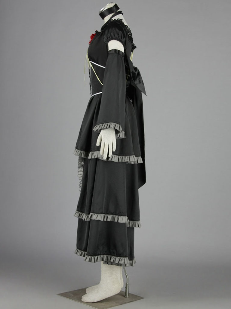 VOCALOID Dark Kagamine Rin Cosplay Costume
