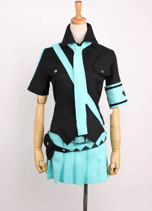 VOCALOIDO Love is War Hatsune Miku Cosplay Costume