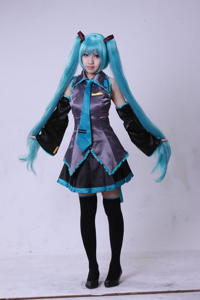 Vocaloid Hatsune Miku Loituma Girl Ievan Polkka Cosplay ...