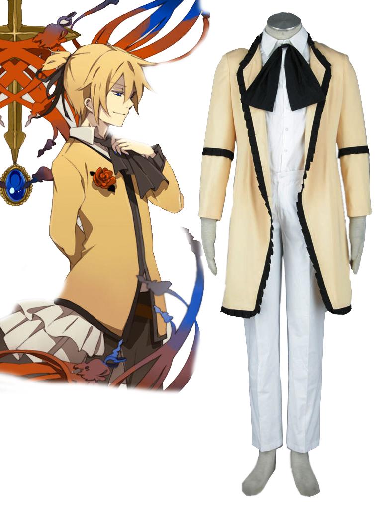 vocaloid kagamine len servant of evil cosplay costume