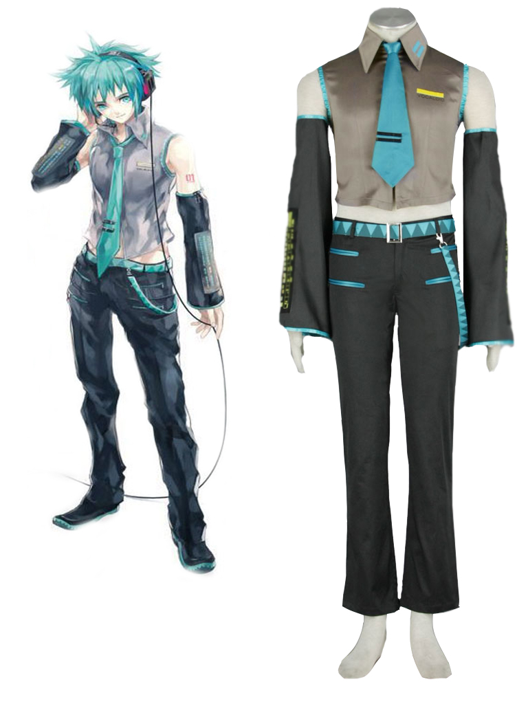 Vocaloid MIKUO Cosplay Costume