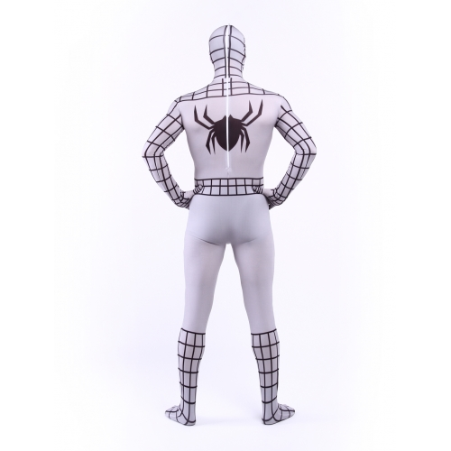 White Spandex Suits Spiderman Costume