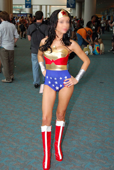Wonder Woman Cosplay Costume Body Suit 16091759