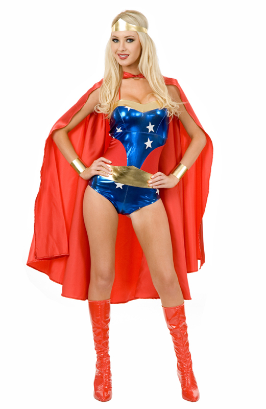 Wonder Woman Cosplay Costume For Halloween 16091403