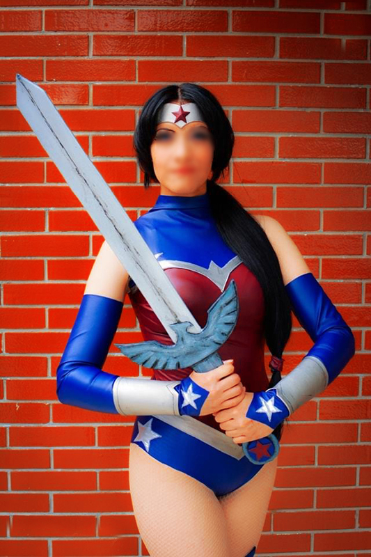 Wonder Woman Cosplay Costume For Halloween 16091711