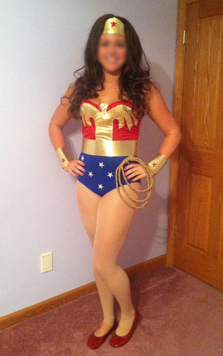 Wonder Woman Cosplay Costume For Halloween 16091736