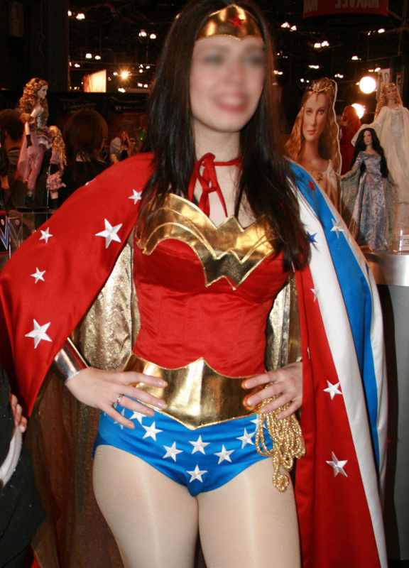 Wonder Woman Costume For Halloween With Cape 16091704