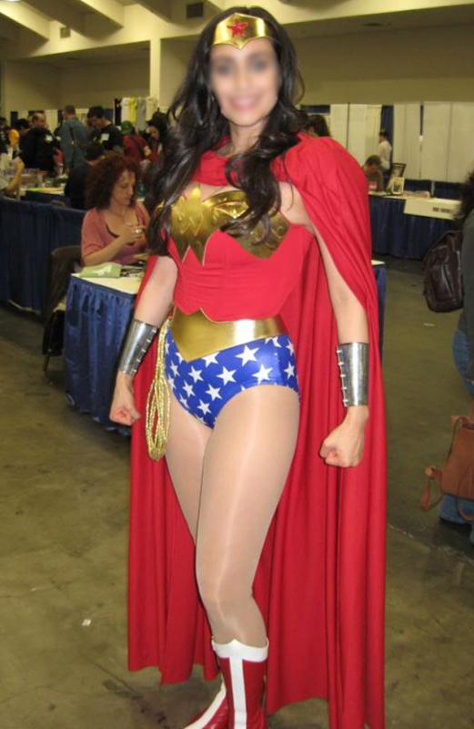 Wonder Woman Costume For Halloween With Cape 16091705