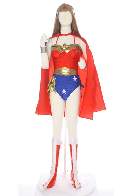 Wonder Woman Costume For Halloween With Cape 16091708
