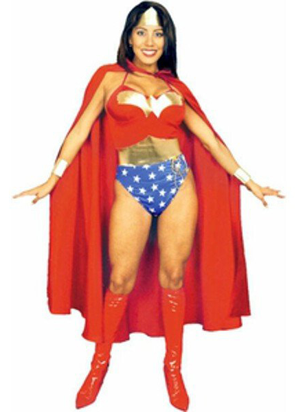 Wonder Woman Costume For Halloween With Cape 16091709