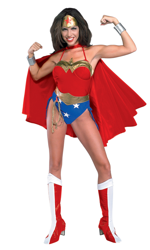 Wonder Woman Costume For Halloween With Cape 16091714