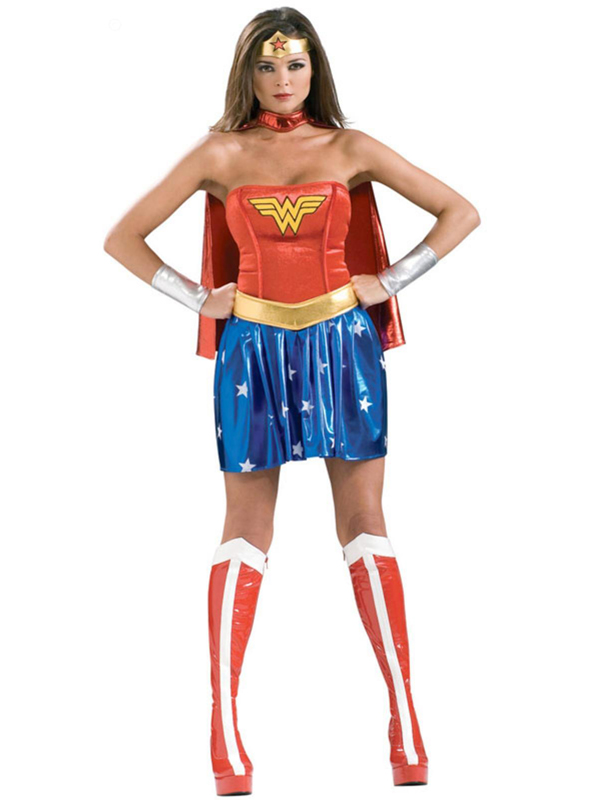 Wonder Woman Costume For Halloween With Cape 16091723