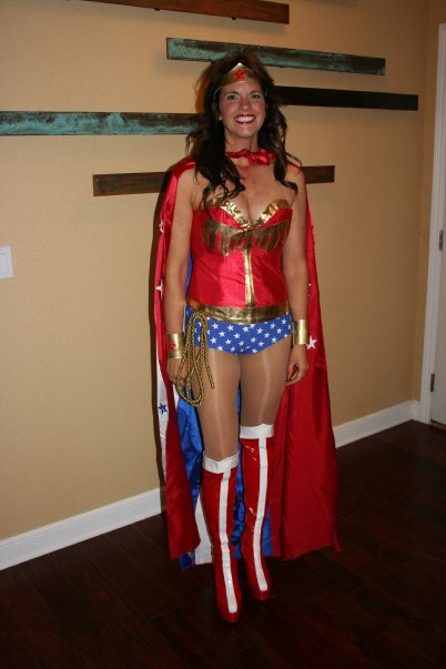 Wonder Woman Costume For Halloween With Cape 16091740