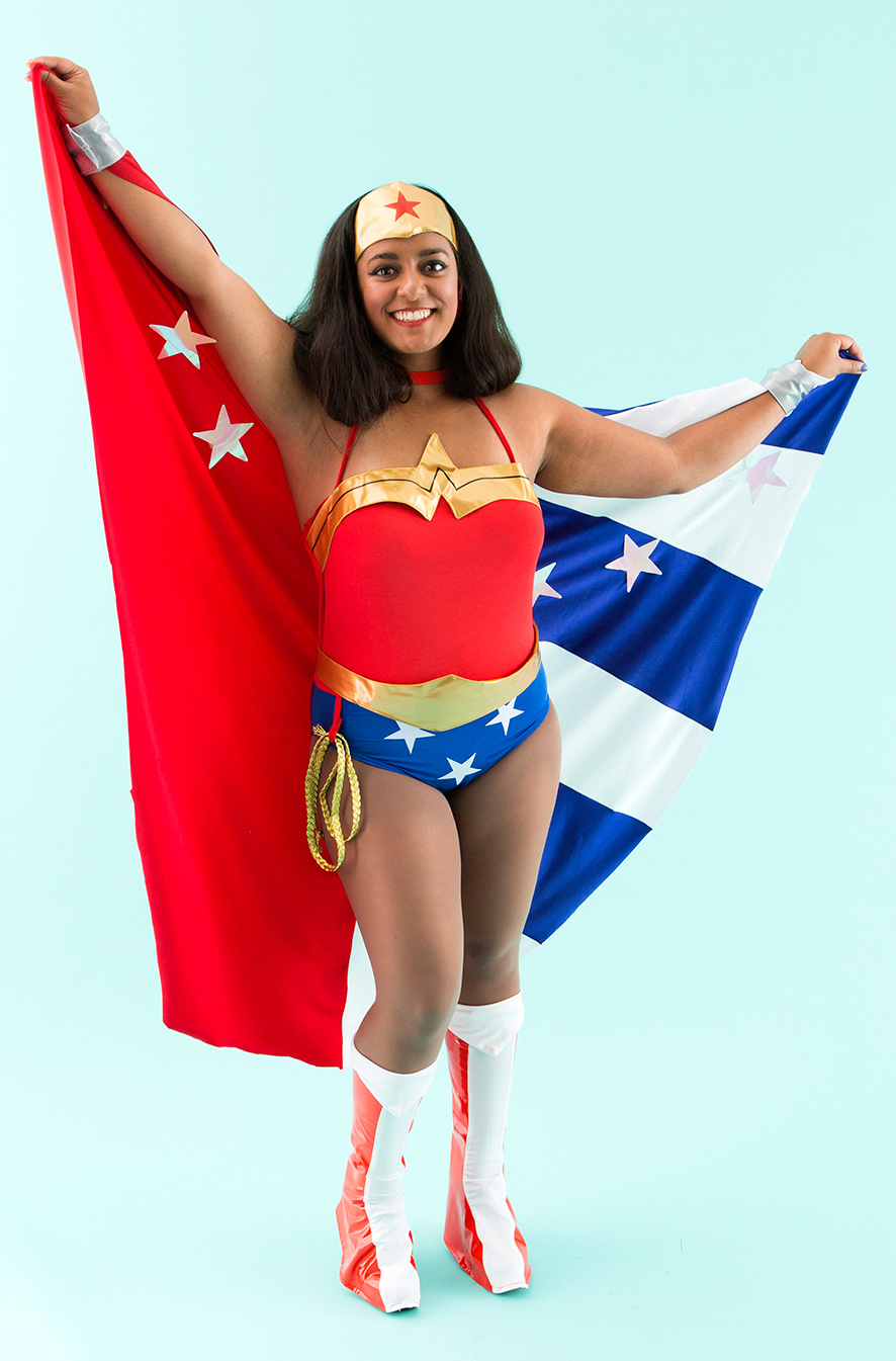 Wonder Woman Costume For Halloween With Cape 16091754