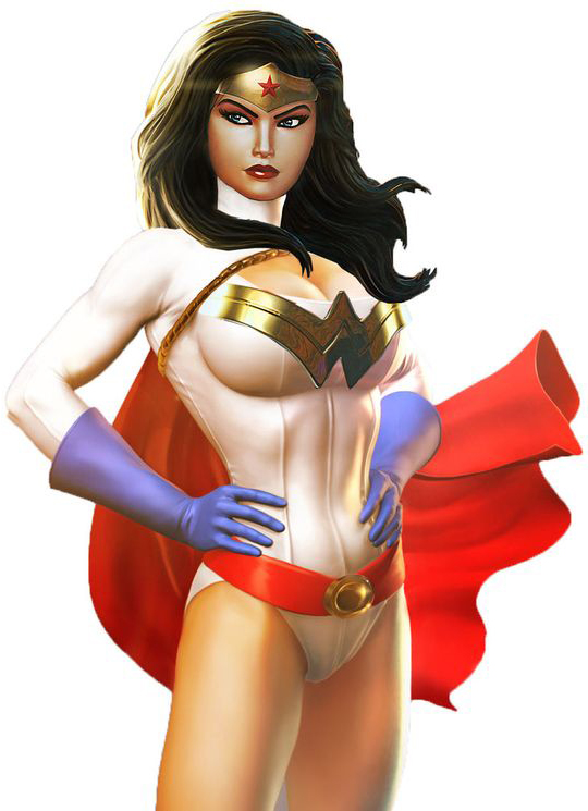 Wonder Woman Costume For Halloween With Cape 16091756