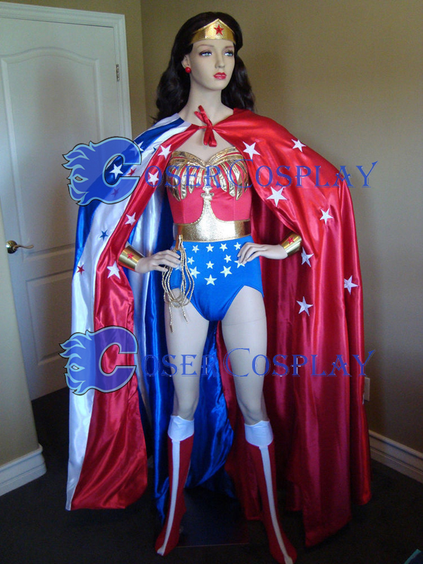 Wonder Woman Costume For Halloween With Cape 16091760