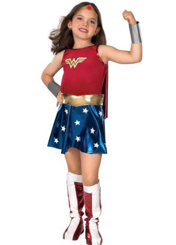 Wonder Woman Kids Halloween Costumes 16091713