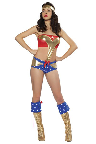 Wonder Woman Sexy Halloween Costumes For Women 16091715