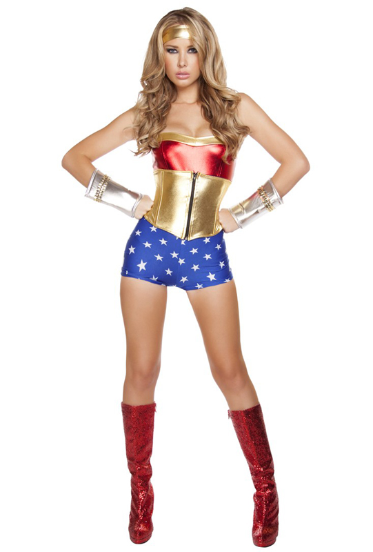 Wonder Woman Sexy Halloween Costumes For Women 16091718