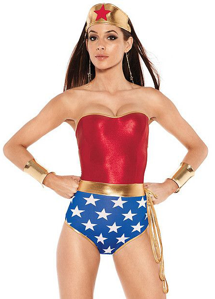 Wonder Woman Sexy Halloween Costumes For Women 16091719