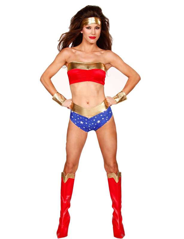 Wonder Woman Sexy Halloween Costumes For Women 16091722