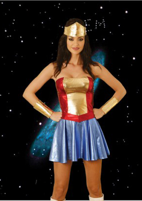 Wonder Woman Simple Halloween Cosplay Costumes 16091422