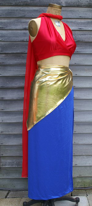 Wonder Woman Vintage Dress Cosplay Costume 16091425