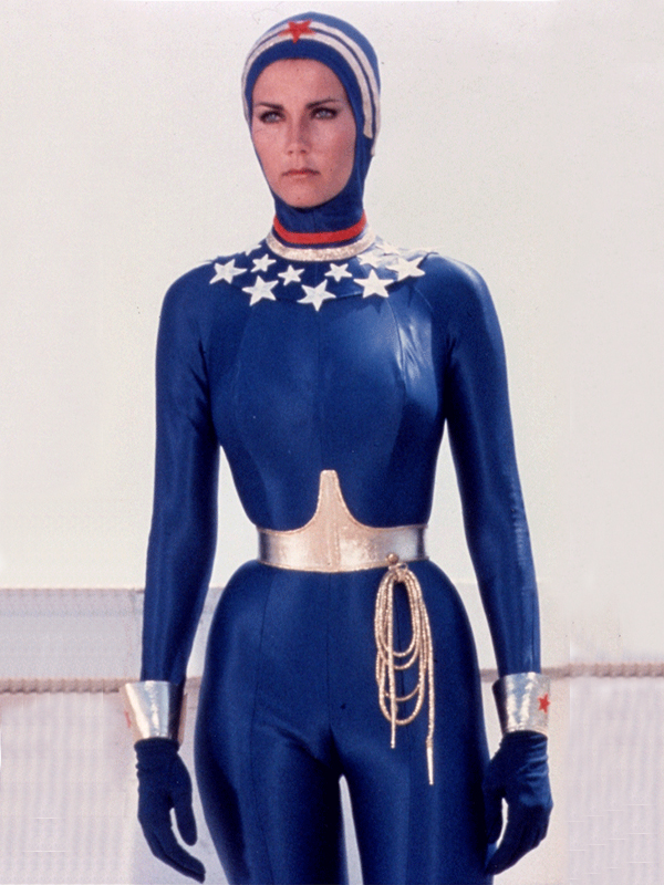 Wonder Woman Zentai Suit Open Face Blue 16091426