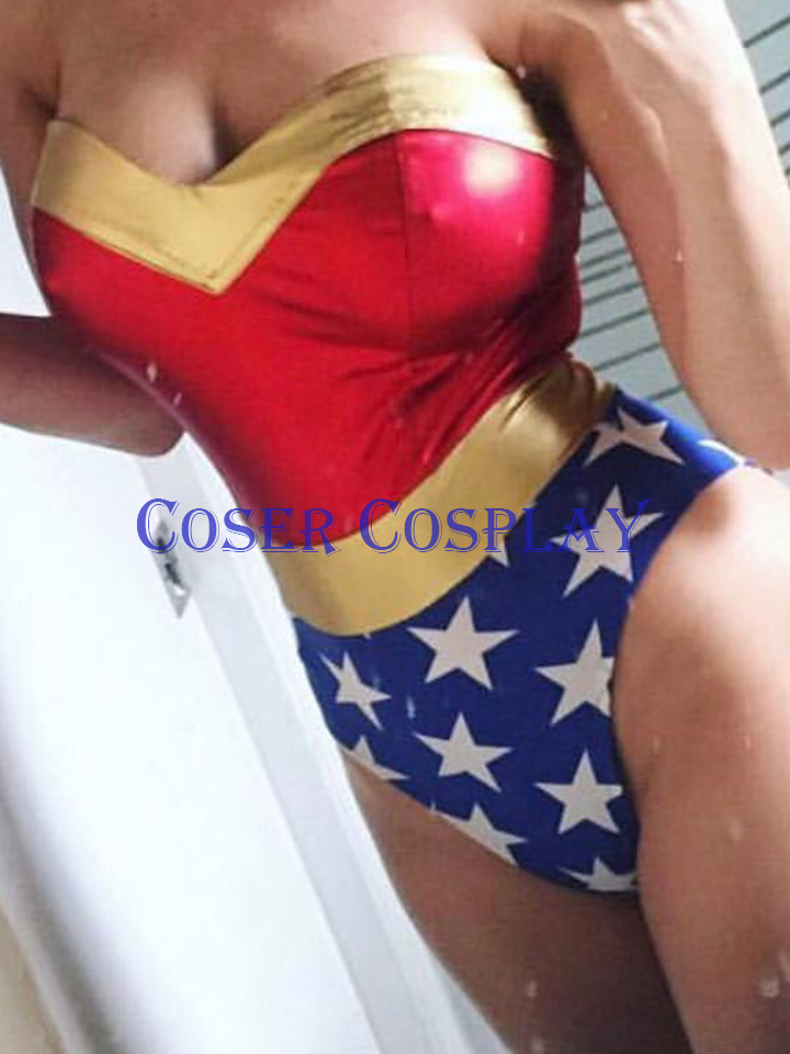Wonder Woman Sexy Catsuit Halloween 18122301