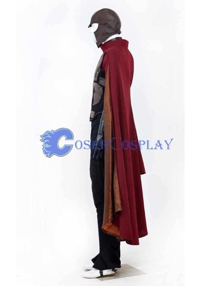 X-Men Magneto Max Eisenhardt Cosplay Costume Custom made (No helmet)