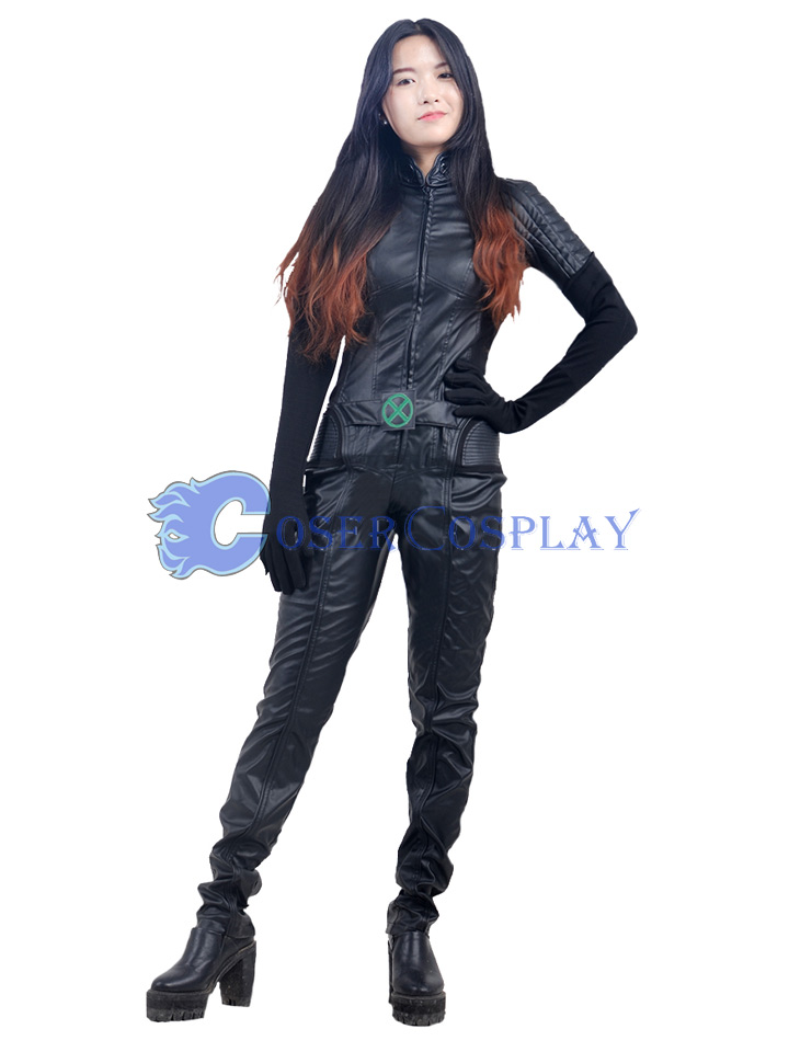 X MEN Rogue Anna Marie Cosplay Costume