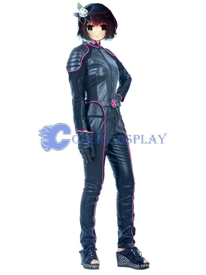 X Men Shadowcat Kitty Pryde Cosplay Costume