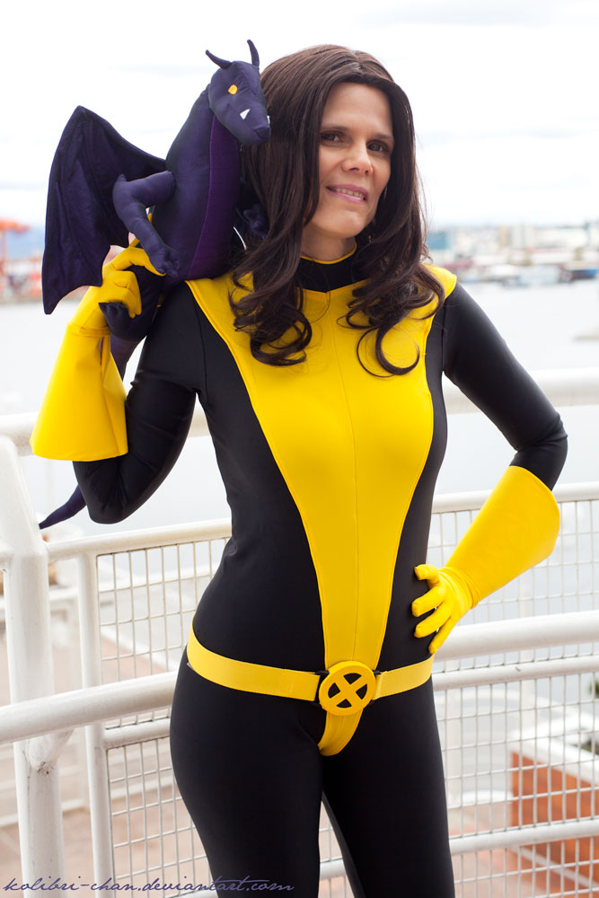 X- Men Kitty Pryde Shadowcat Bodysuit Women