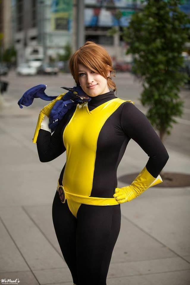 X- Men Kitty Pryde Shadowcat Cosplay Catsuits