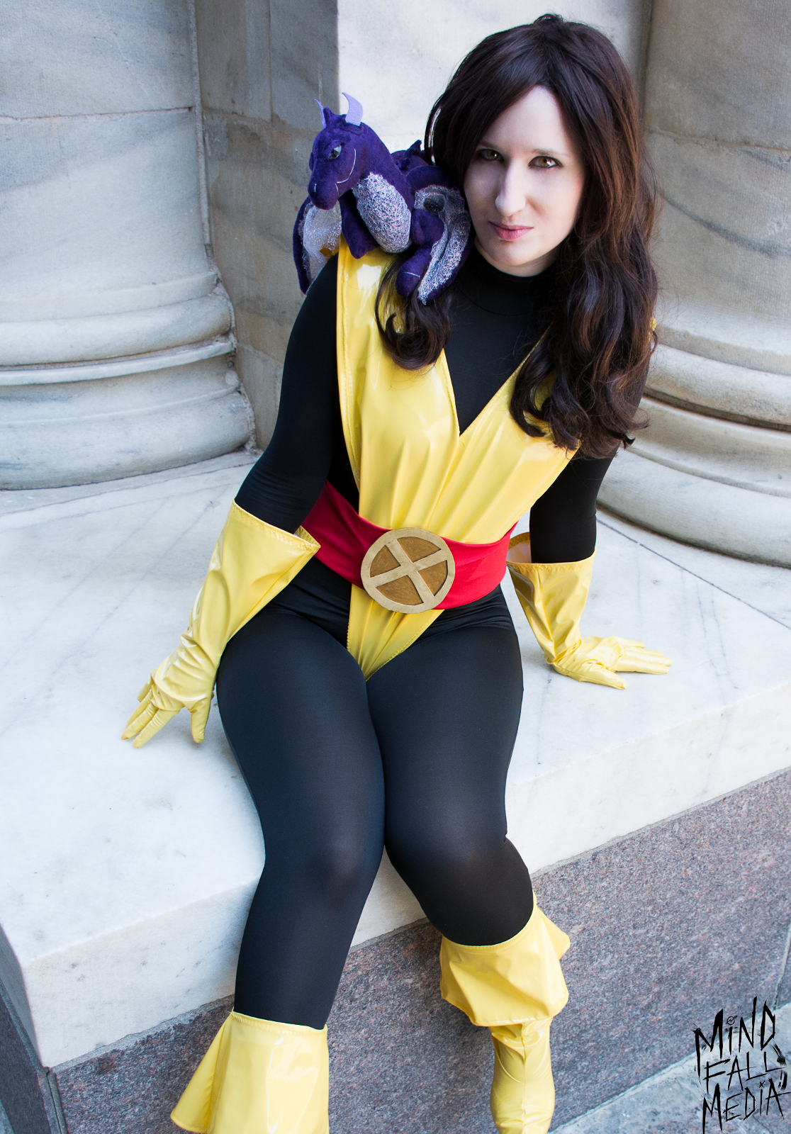 X- Men Kitty Pryde Shadowcat Cosplay Costume