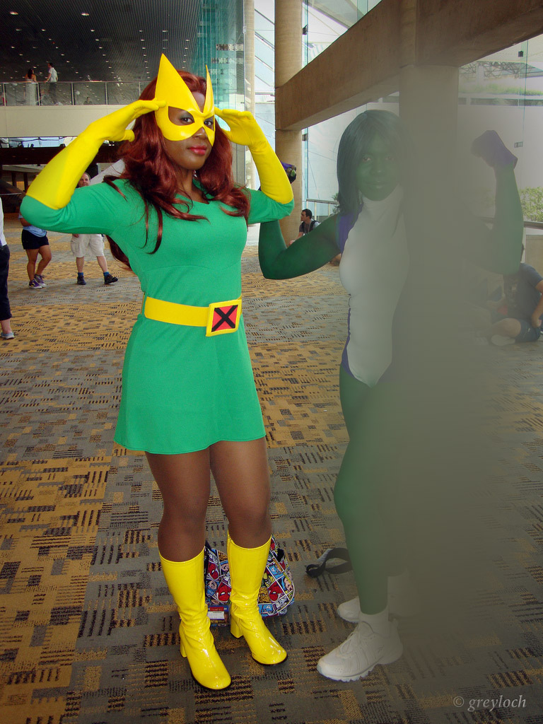 X-Man Marvel Gir Dress Cosplay Costume