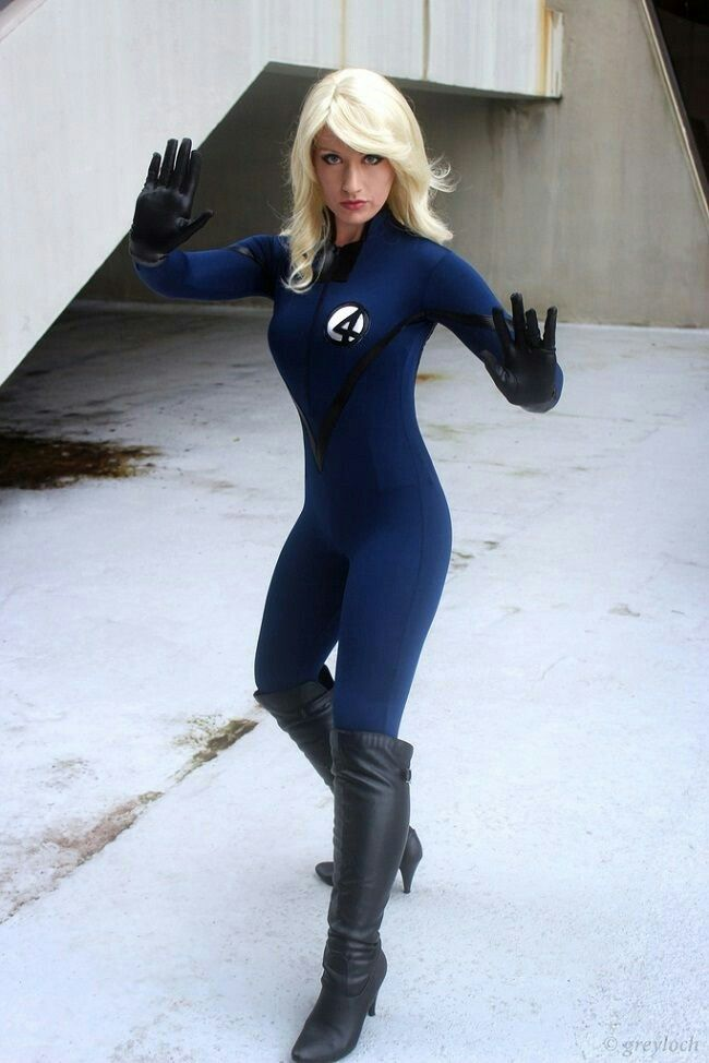 X-Man Marvel Sue Storm Cosplay Costume