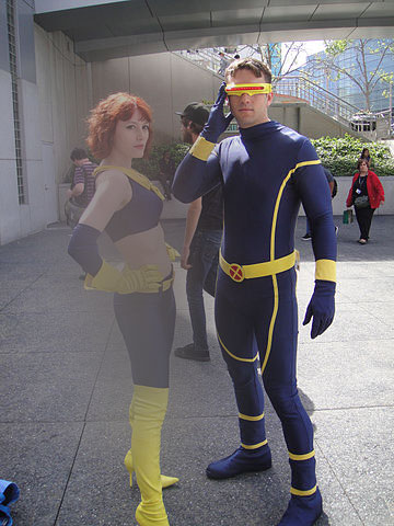 X-Men Cyclops Cosplay Costume Catsuits