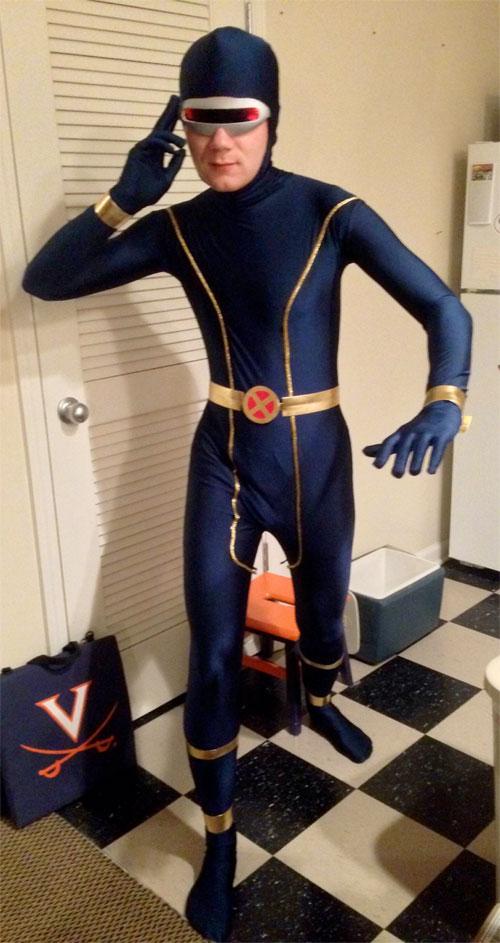 X Men Cyclops Movie Costume X-Men Cyclops S...