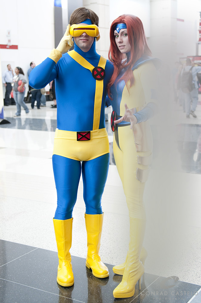 X-Men Cyclops Spandex Cosplay Costume