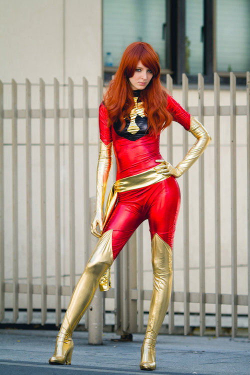 X-Men Dark Phoenix Cosplay Costume Catsuits