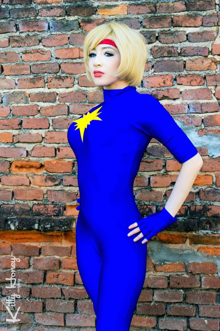 X-Men Dazzler Cosplay Costume Spandex Suits