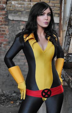 X-Men Kitty Pryde Shadowcat Cosplay Skin Suit