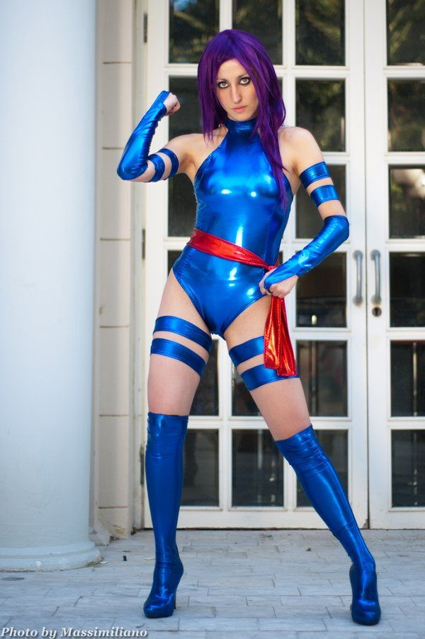 X-Men Psylocke Elizabeth Betsy Braddock Suits
