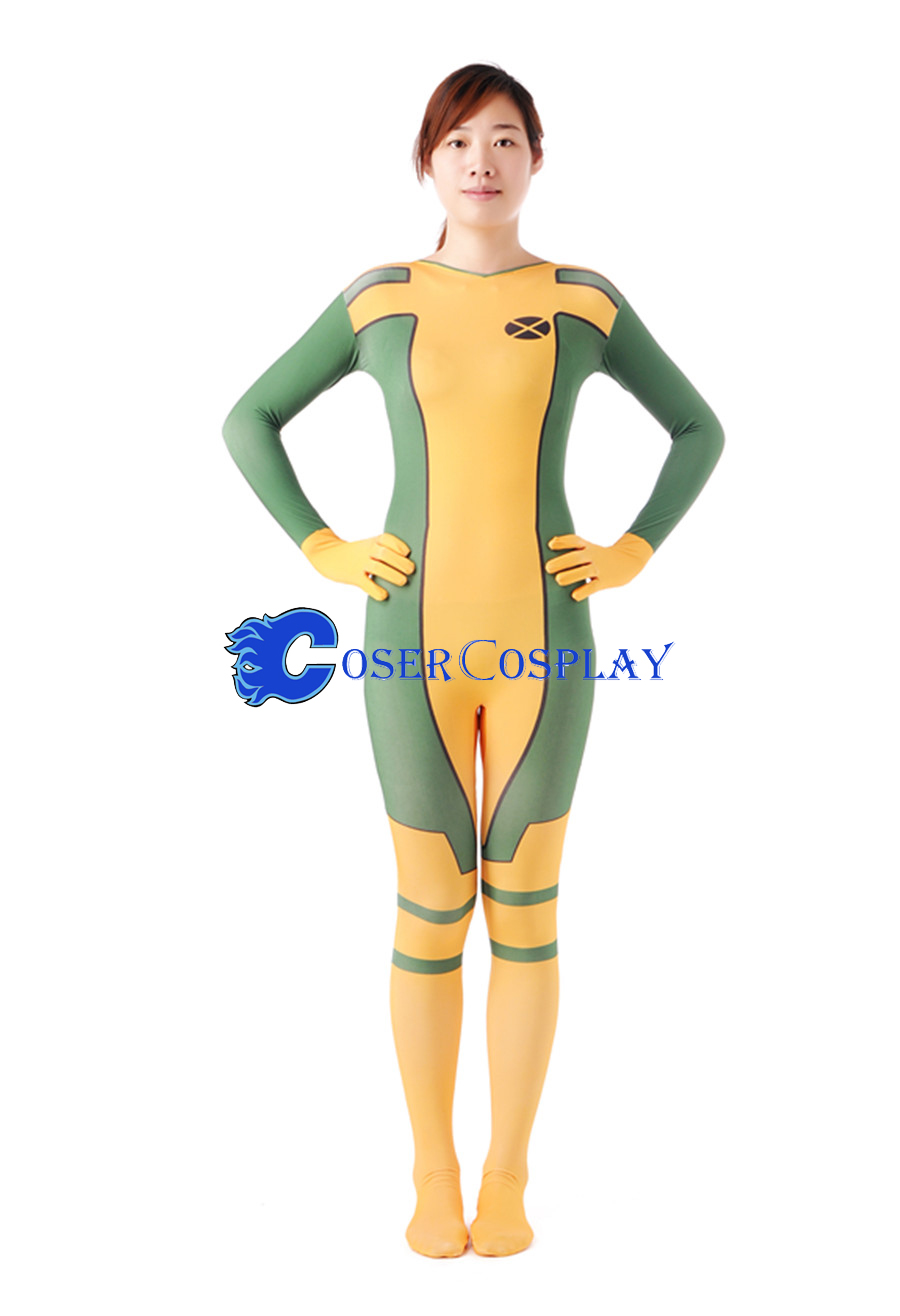 X-Men Rogue Cosplay Costume Anna Marie