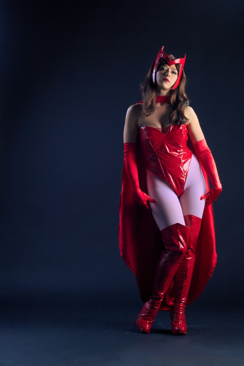 X-Men Scarlet Witch Sexy Costume With Cape