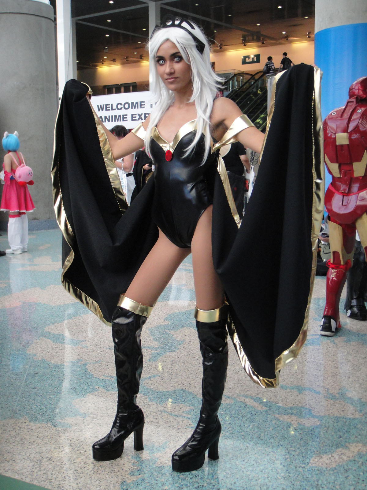 X-Men Storm Ororo Munroe Sexy Superhero Capes